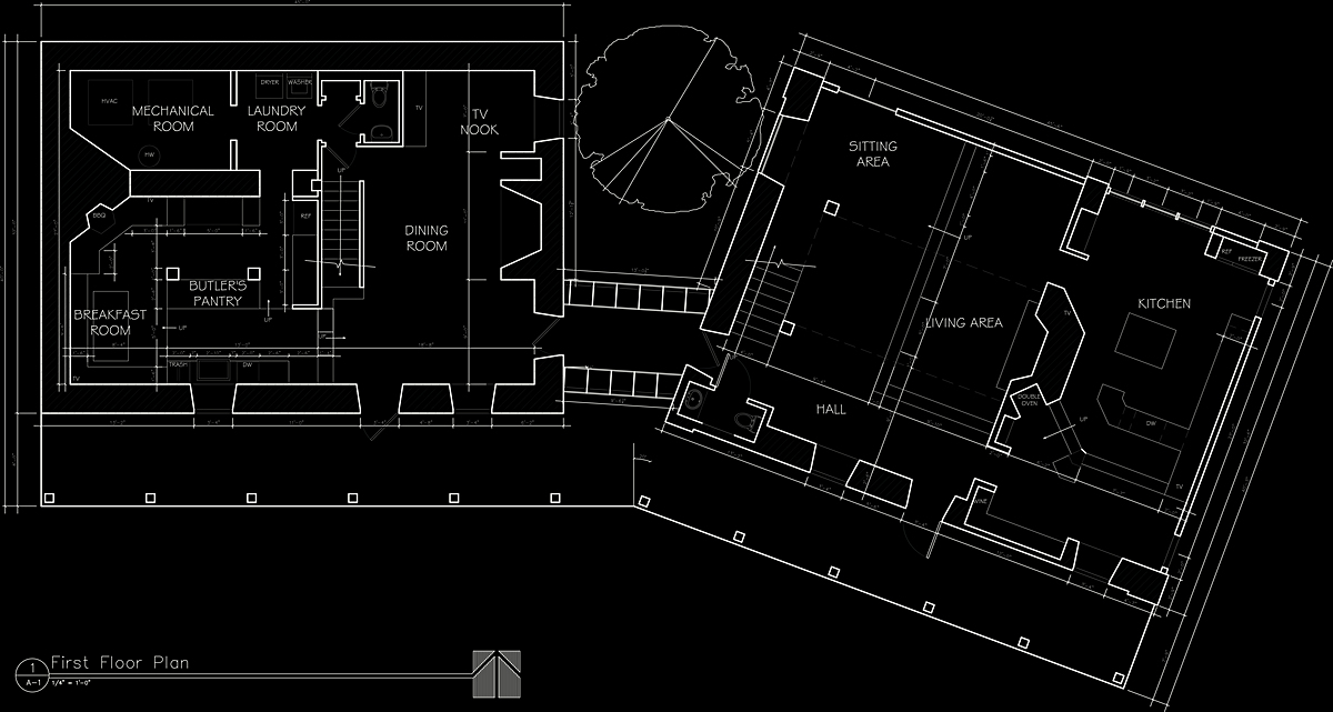First Floor Plan, Millerton House