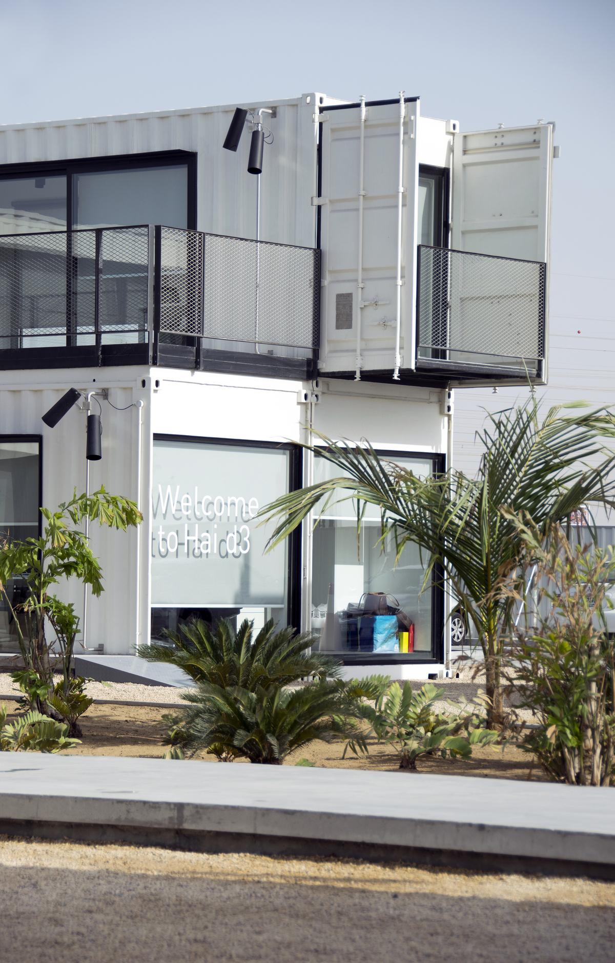 Hai d3 dubai uae designing an outdoor lighting for Hotel dubai design district
