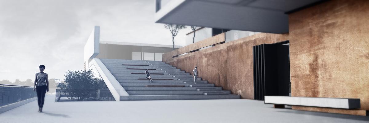 014 – PERSPECTIVE | URBAN PLATFORM - Image Courtesy of ONZ Architects