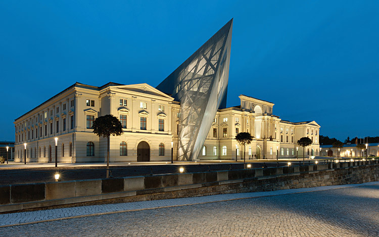 Studio Daniel Libeskind, with Dresden Museum of Military History, Dresden, Germany