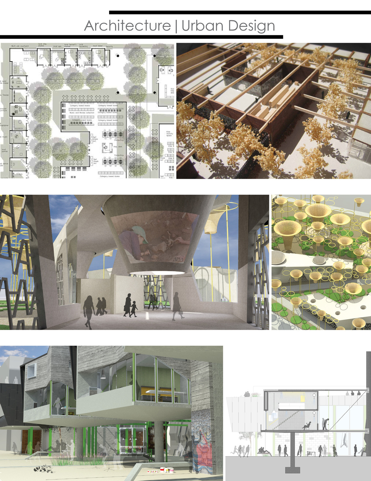 Work Sample | Architecture | Urban Design | Hussam Khoury | Archinect