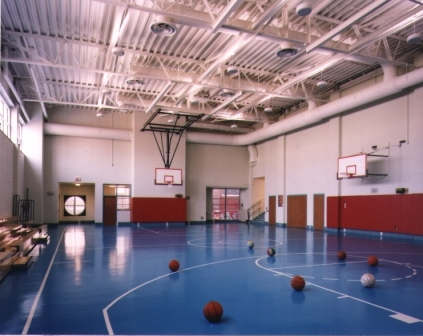 Inrterior of Gymnasium