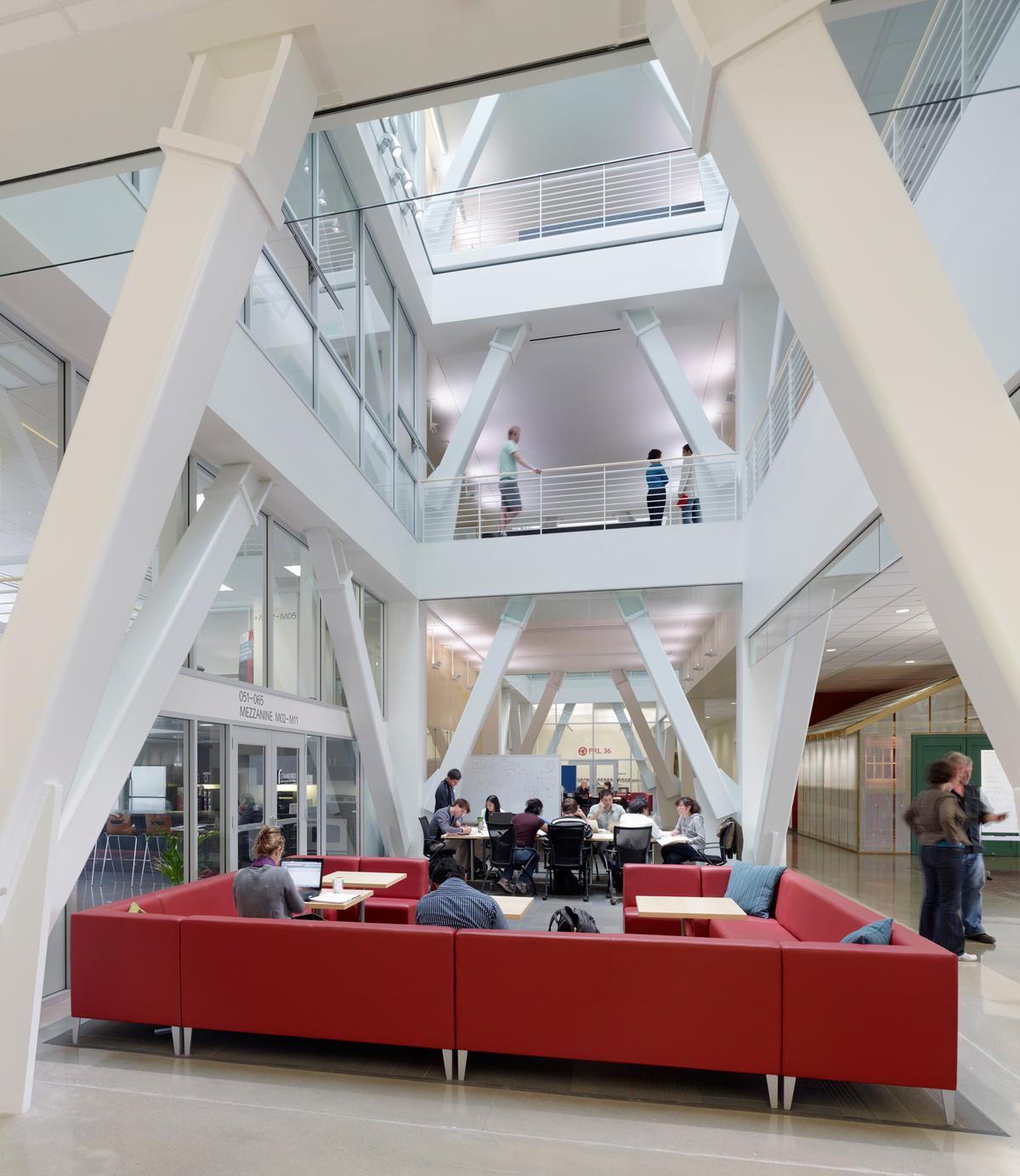 Ground floor level of Atrium
