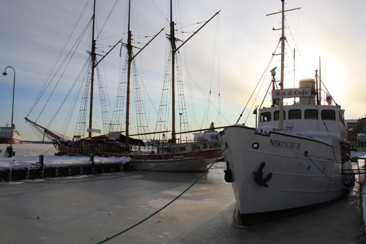 Frozen Harbors of the Baltic