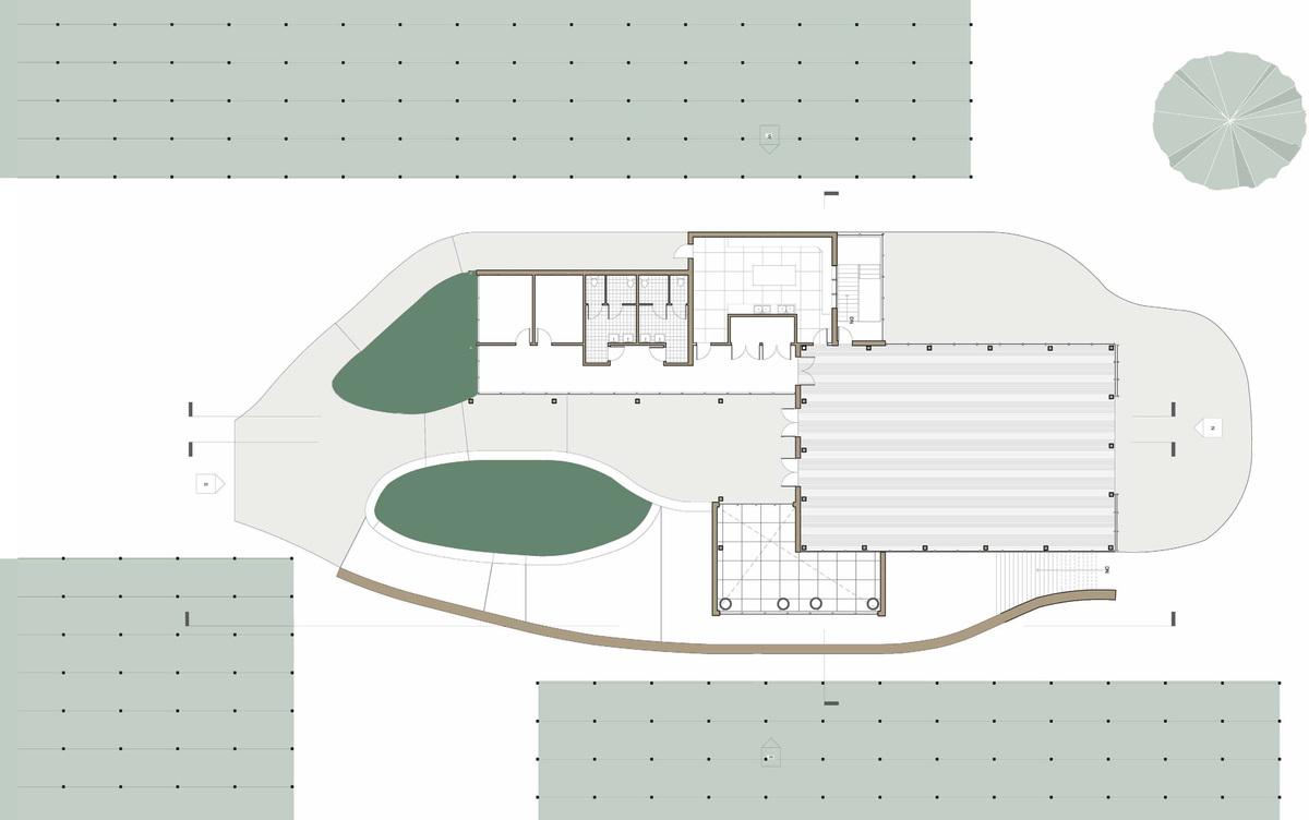 Reception Hall Plan
