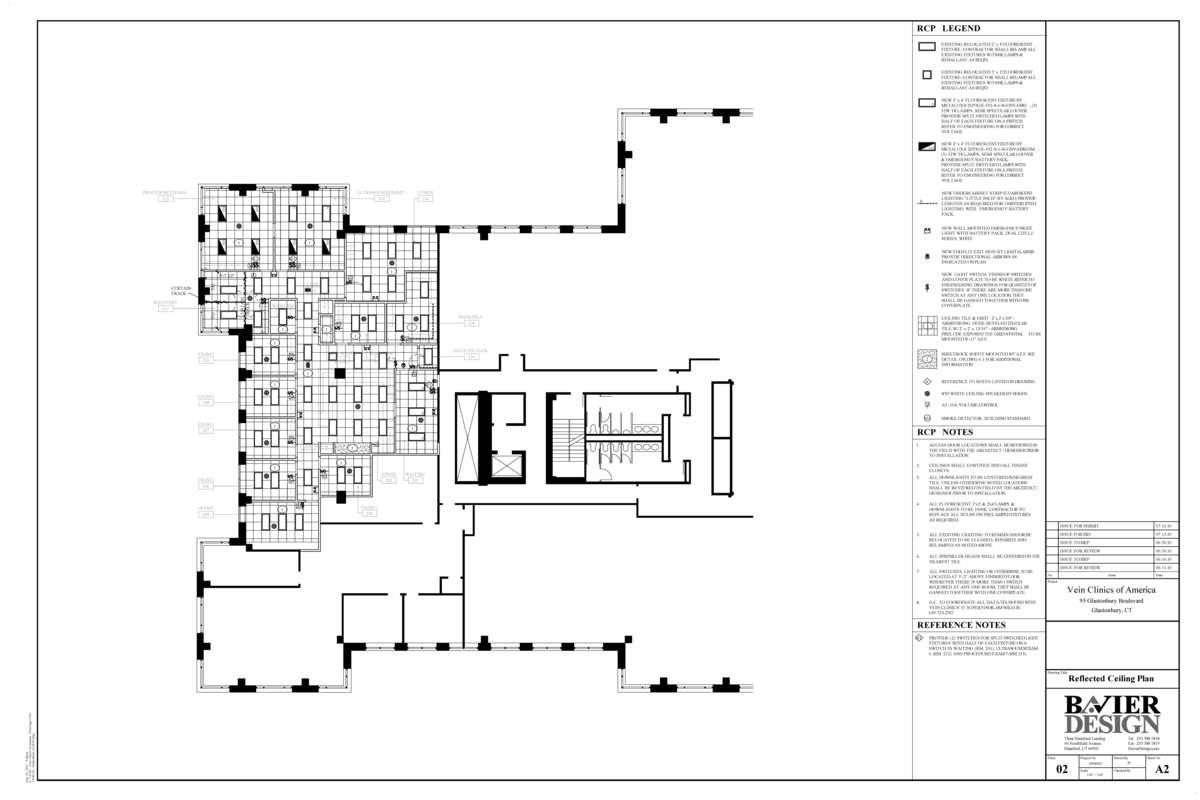VCA Celing Plan