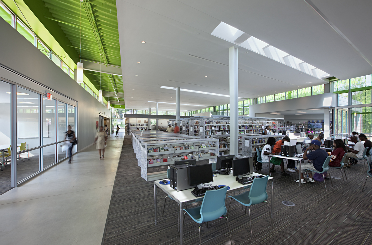 Anacostia Library © Mark Herboth Photography
