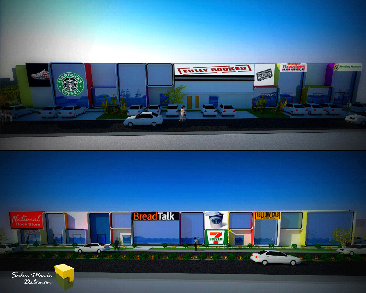 Storey Mixed-use Commercial Building | Salve Marie Dalanon ...