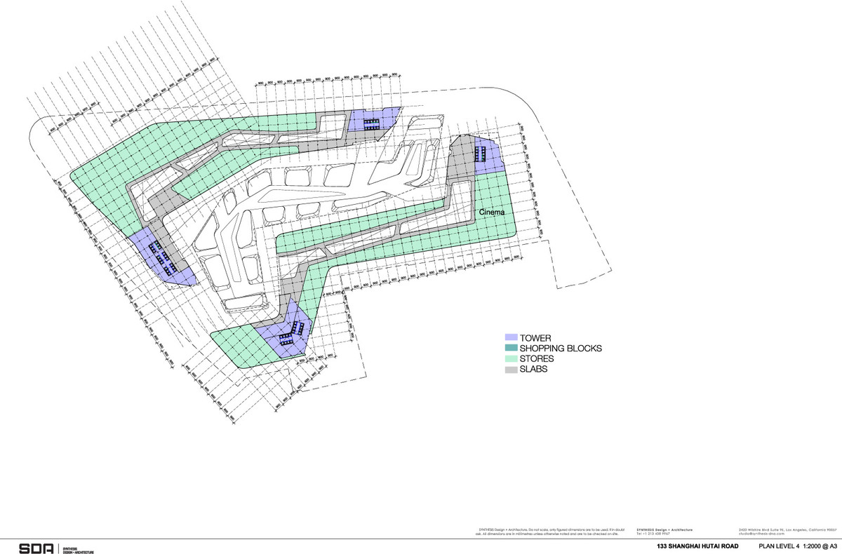 Floor plan L4 (Image: SDA)