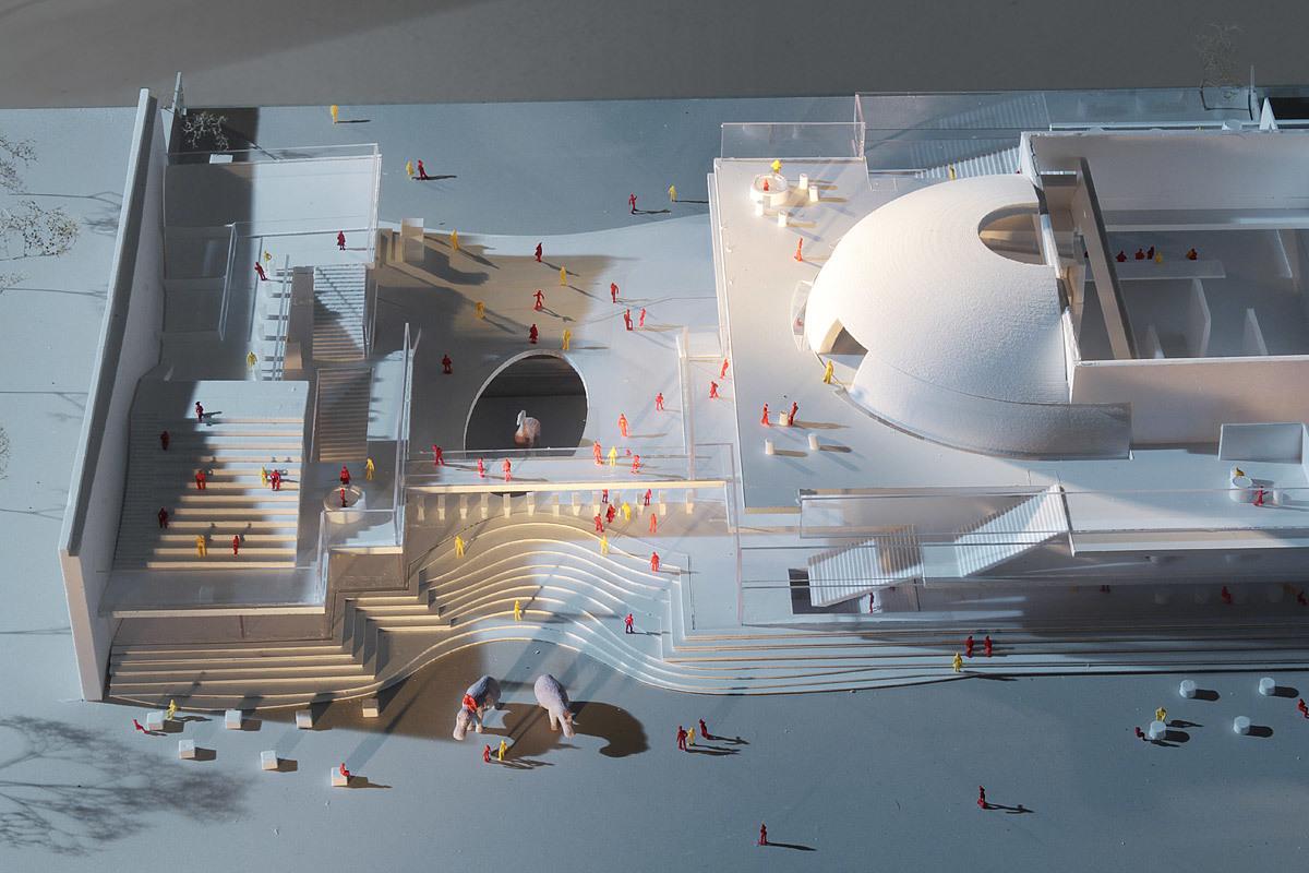 Model (Image: Henning Larsen Architects and Van den Berg Groep)