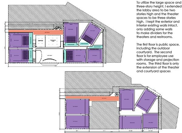 2nd & 3rd Floor Plan