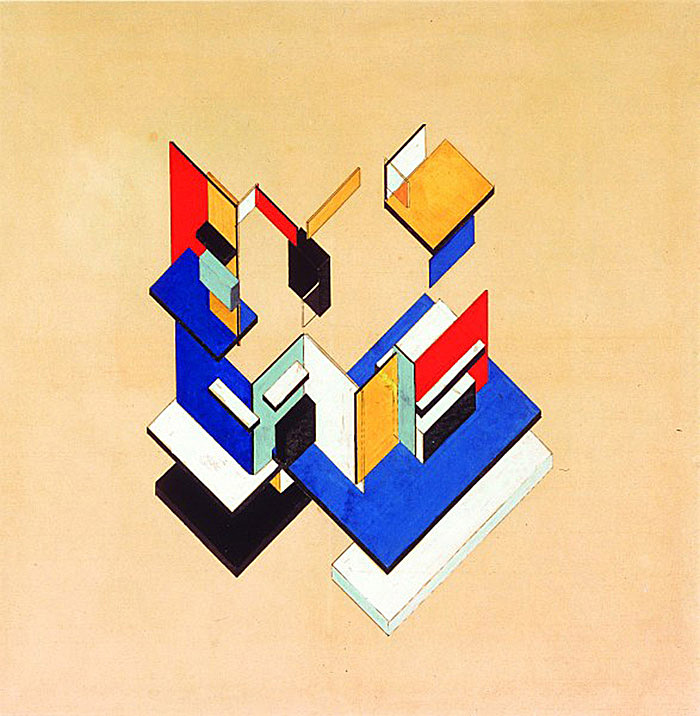 Theo van Doesburg, Contra-Construction, 1923