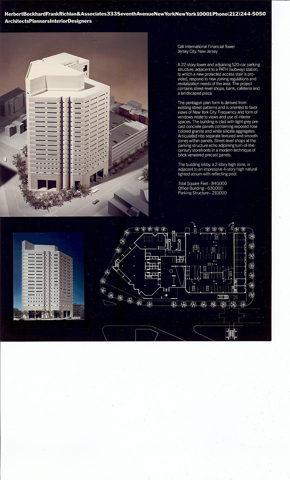 Herbert Beckhard Frank Richlan & Associates - Cali Corporate Center, Jersey City NJ