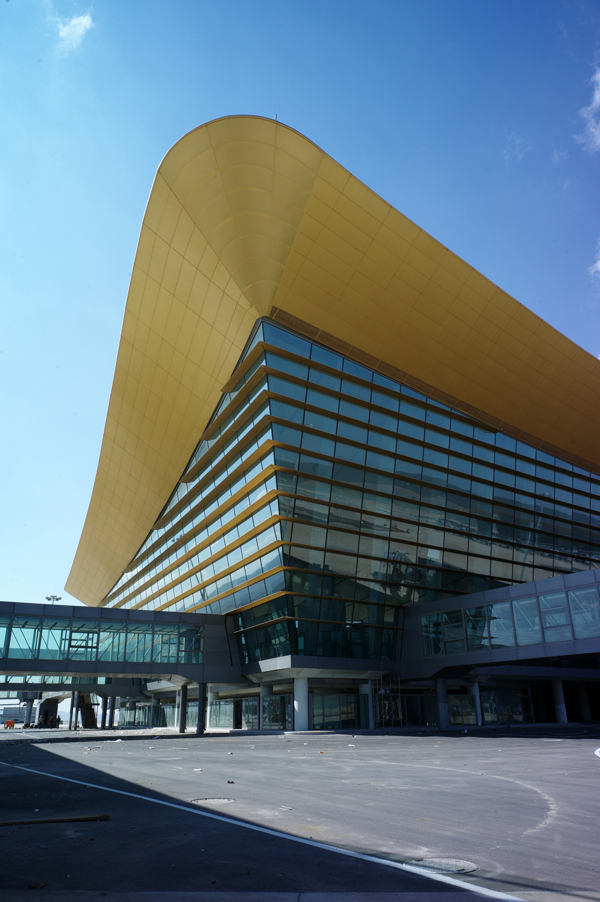 Kunming Changshui International Airport Hunter Douglas Architectural Archinect