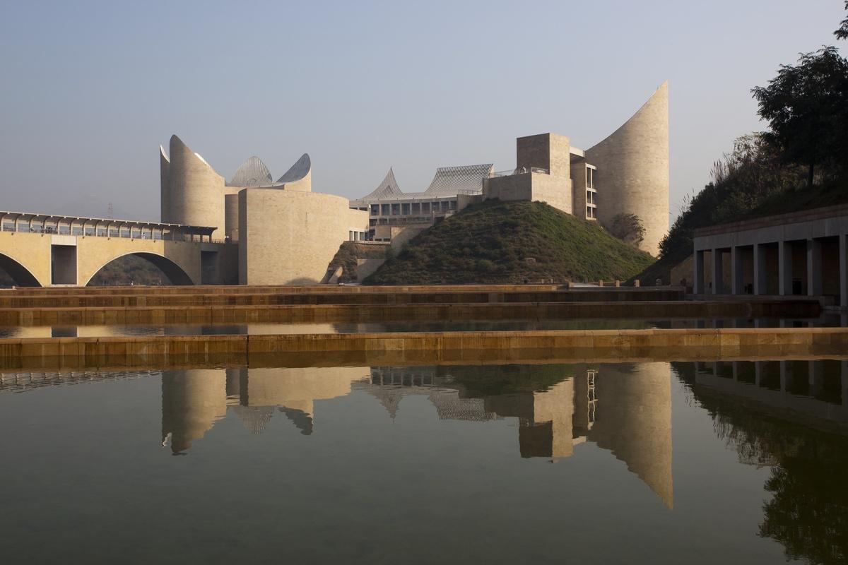 The Khalsa Heritage Center. Credit: Ram Rahman courtesy Safdie Architects