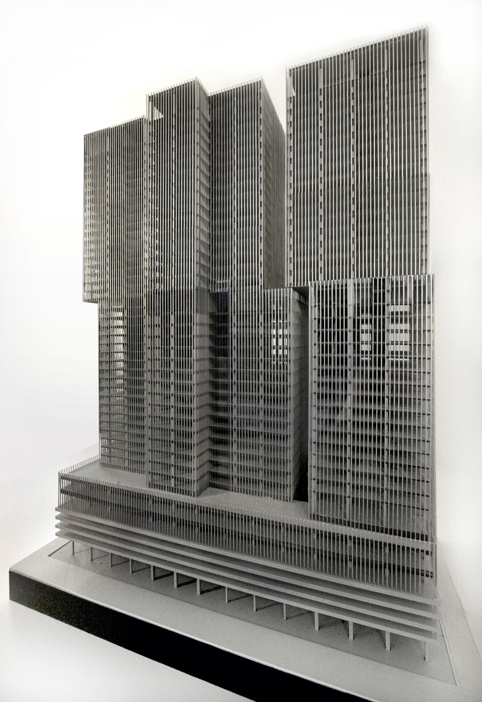 Model - South East. © OMA