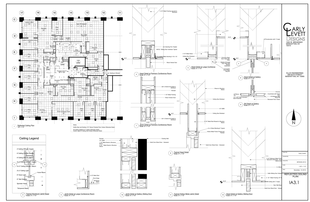 Construction documents partial set carly levett archinect for Construction plan drawing