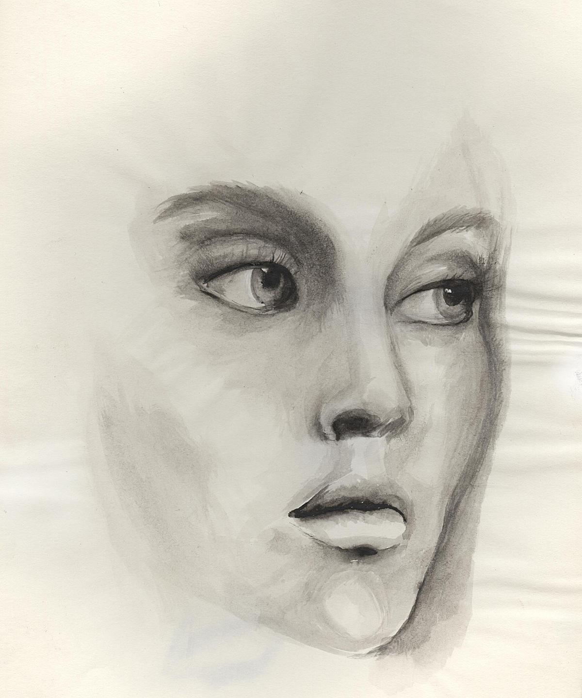 Female (watercolor)