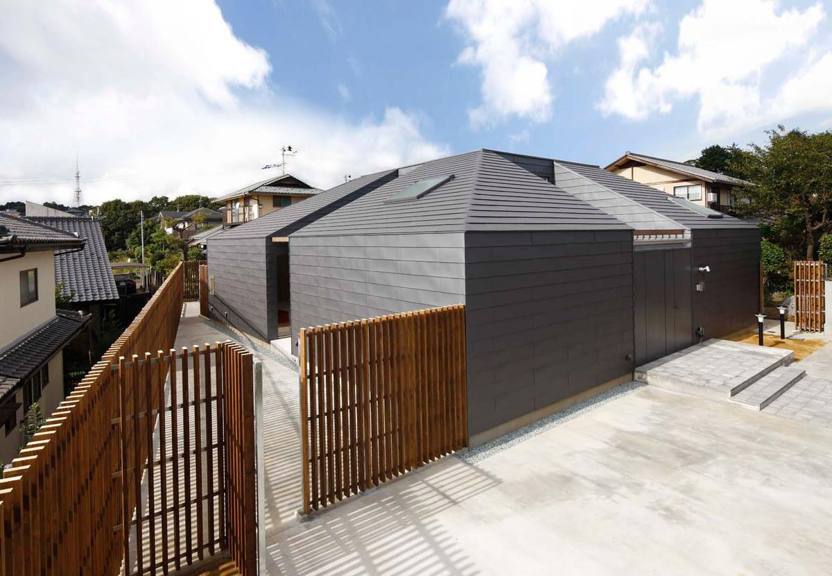 Street view of House Yagiyama in Sendai, Japan (Photo: Yasuhiro Takagi)