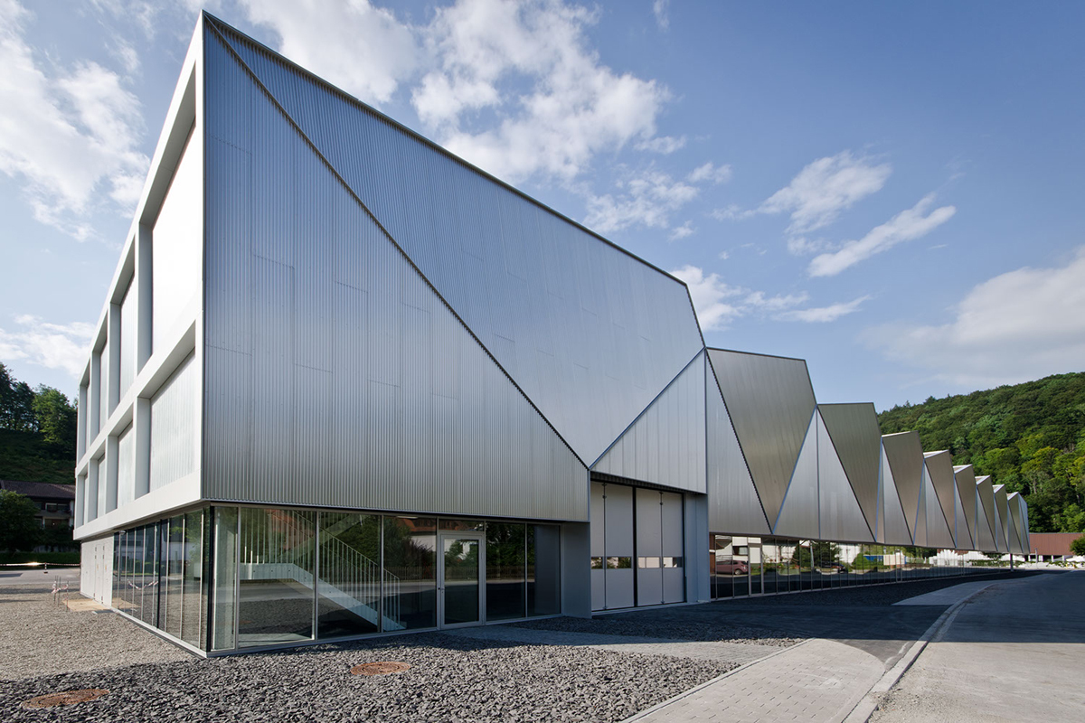 production hall hettingen barkow leibinger archinect