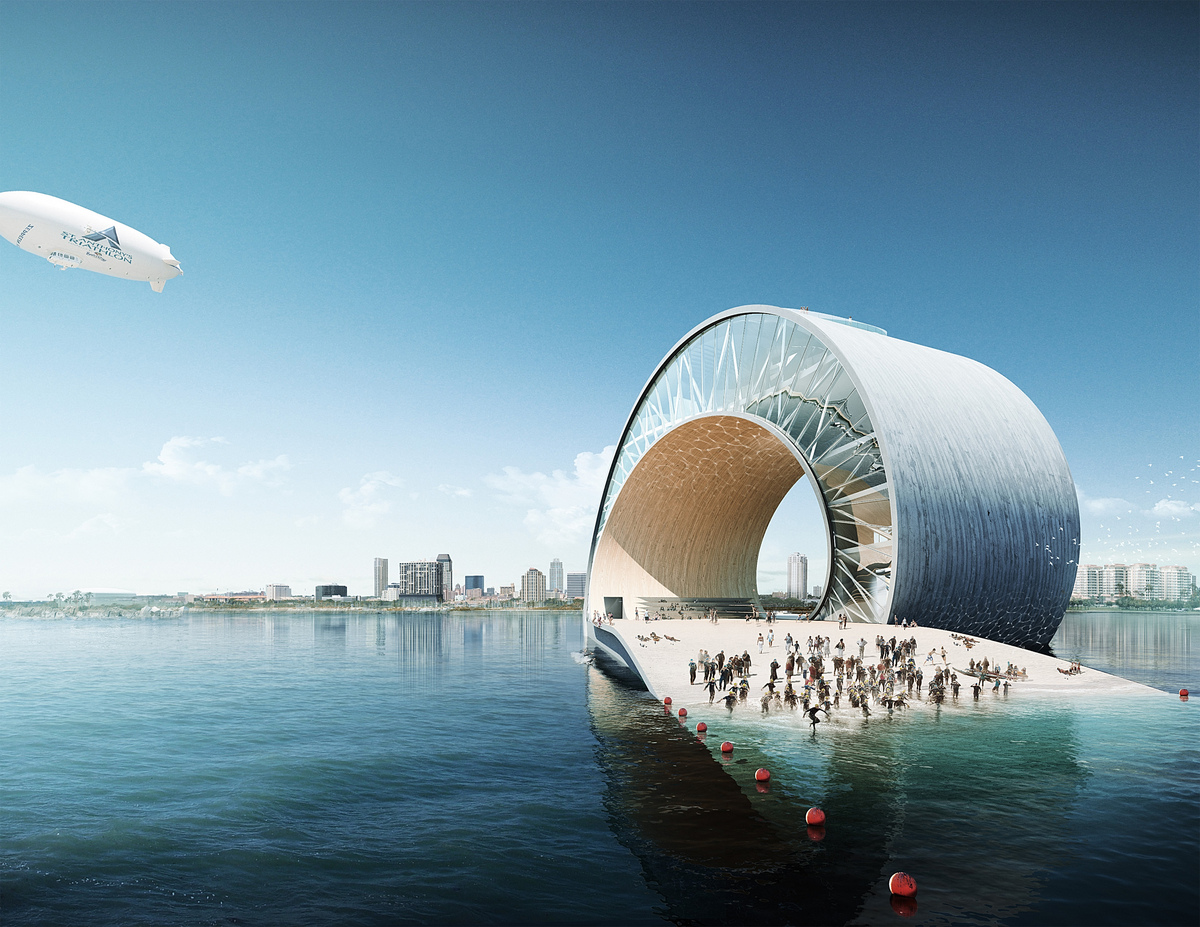 St petersburg pier mesh architecture archinect for Architect florida