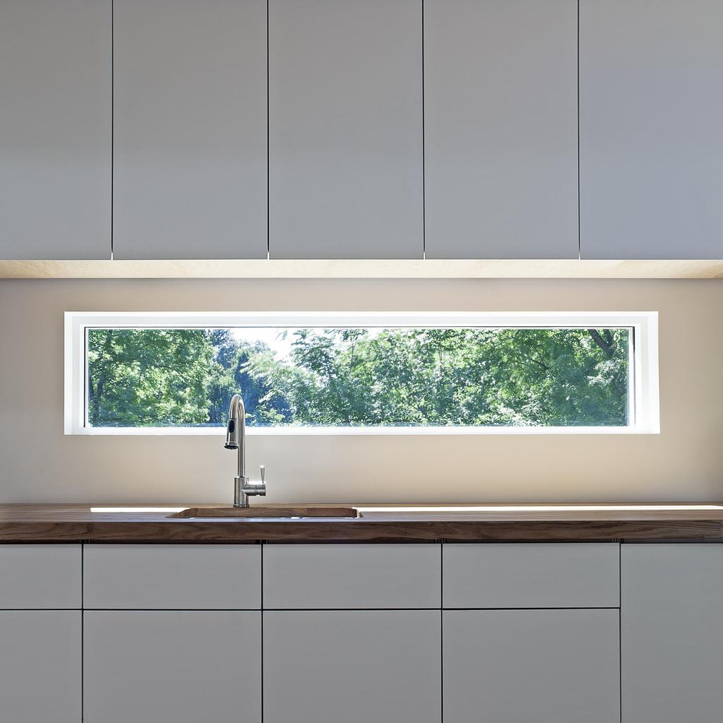 Kitchen window (photo by Ken McCown)