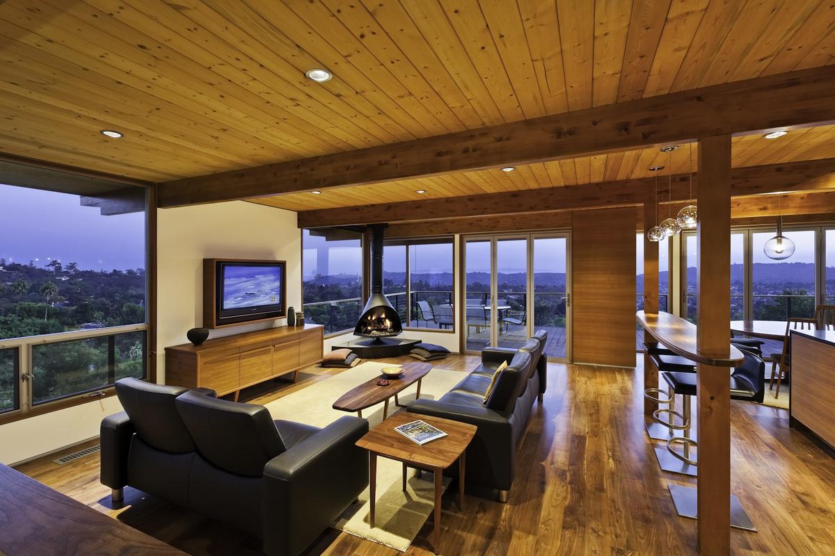 Mid Century Modern Living Room Furniture Mid Century Modern Residence Ab Design Studio Archinect