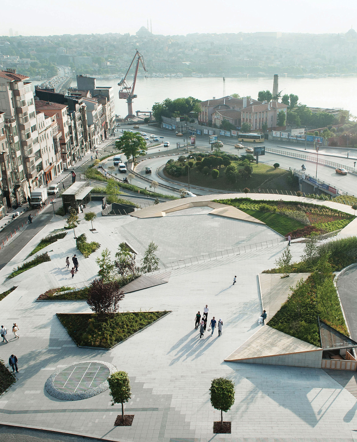 Shortlisted for Urban Design of the Year: SANALarc for Sishane Park in Istanbul, Turkey. Photo courtesy of LEAF Awards.