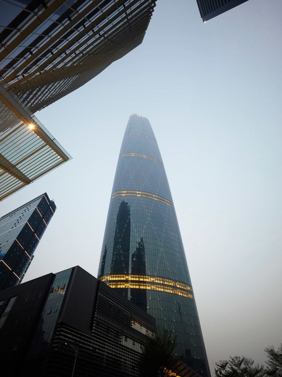 Guangzhou International Finance Centre, Guangzhou, China - Wilkinson Eyre Architects (Photo: Christian Richters)