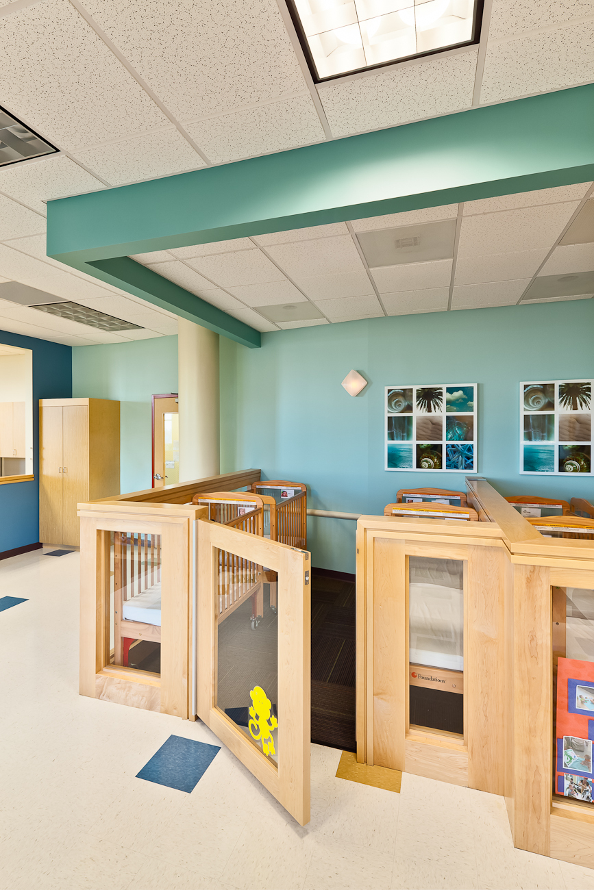 Room Construction Design: UCLA Childcare Center