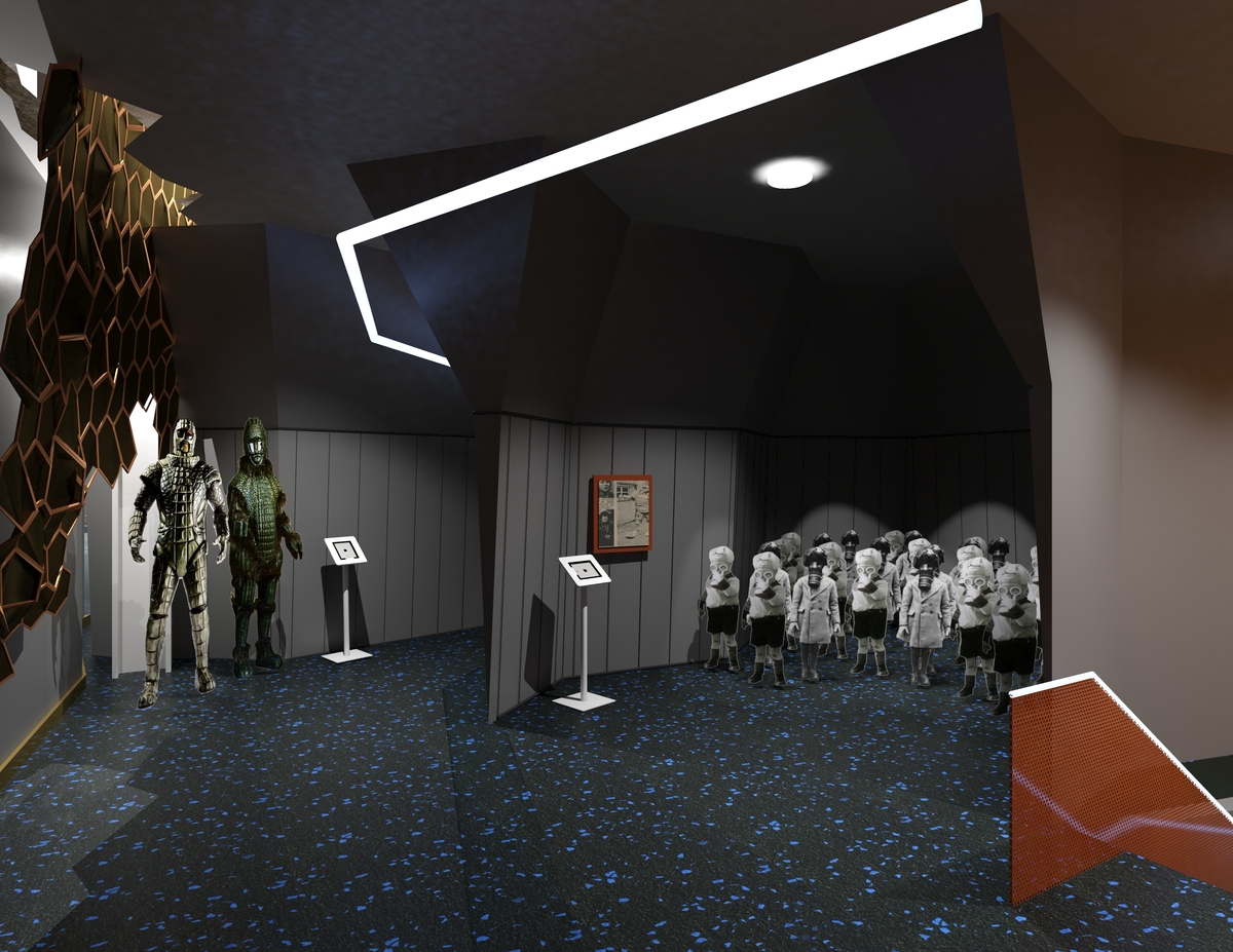 Doctor Who Museum Michelle Fallone Archinect
