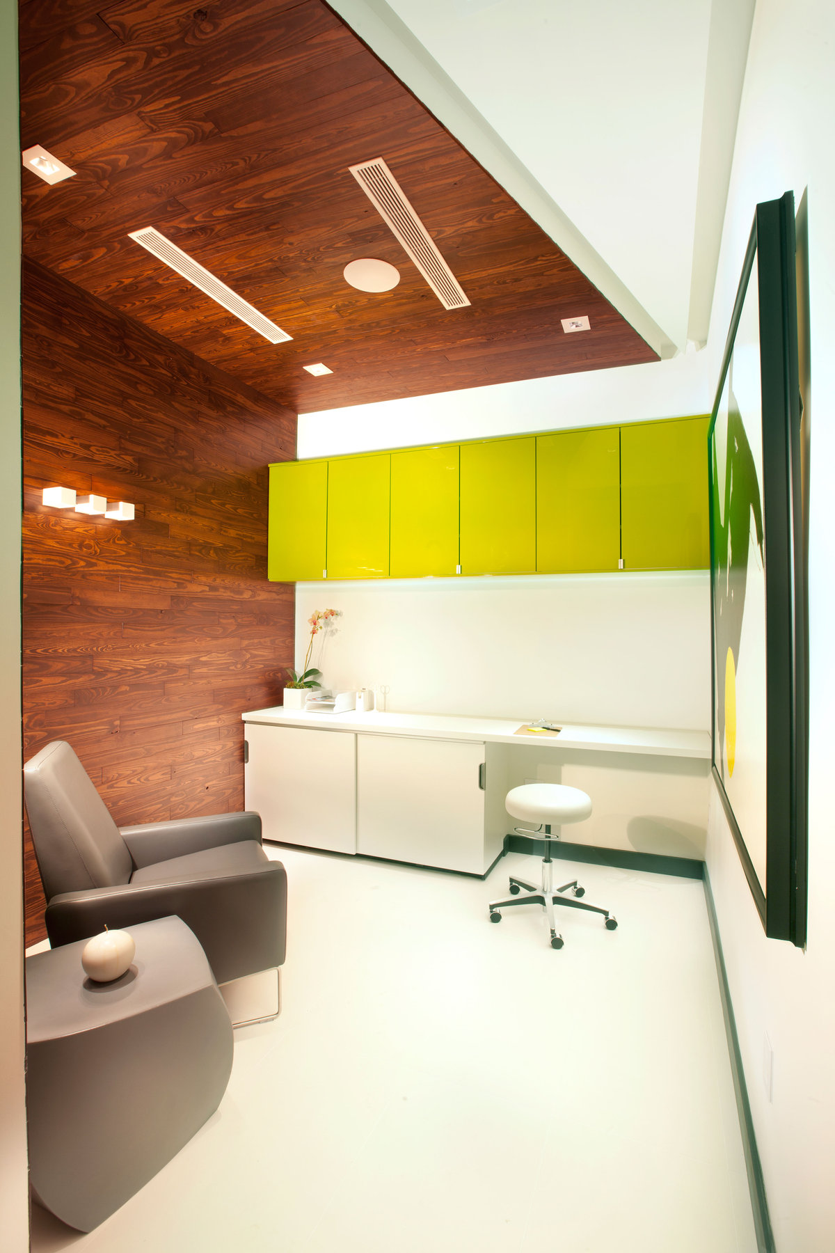 Interior Design Modern: Miami Modern Scandinavian Medical Office