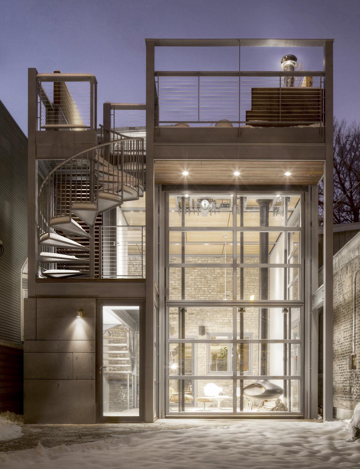 Escape Pod Wicker Park Residence 2 Flat Conversion