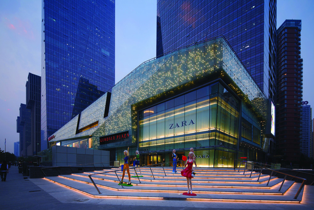 Gemdale Plaza in Beijing, China by Laguarda.Low Architects, LLC