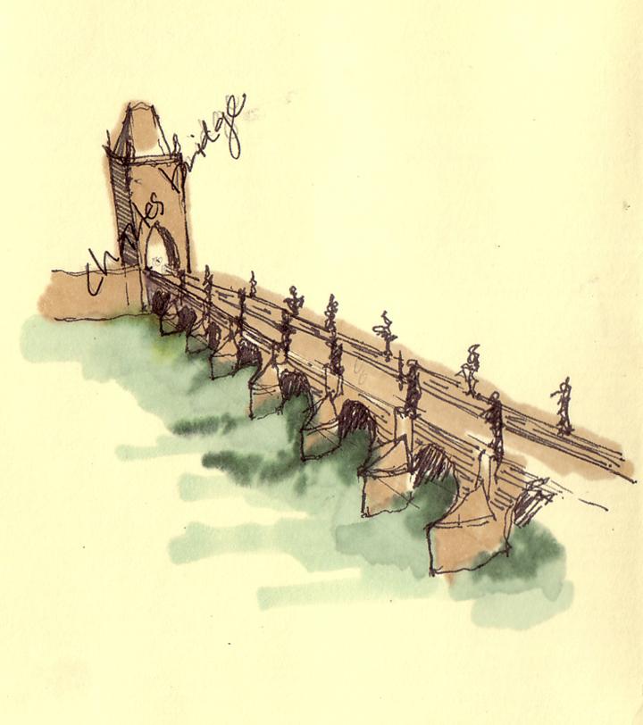 Charles Bridge: Prague, Czech Republic