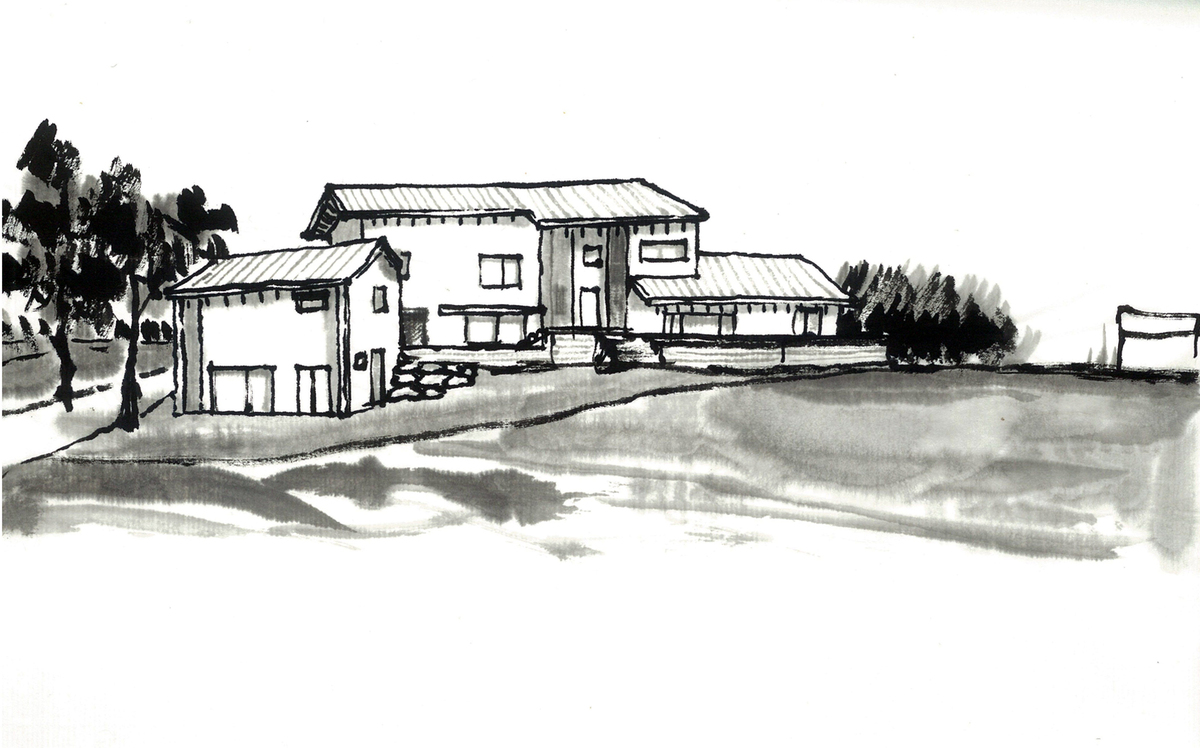 Sketch 3 - south elevation 2