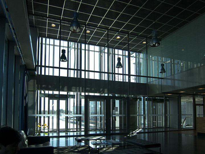 Kone Headquarters Lobby