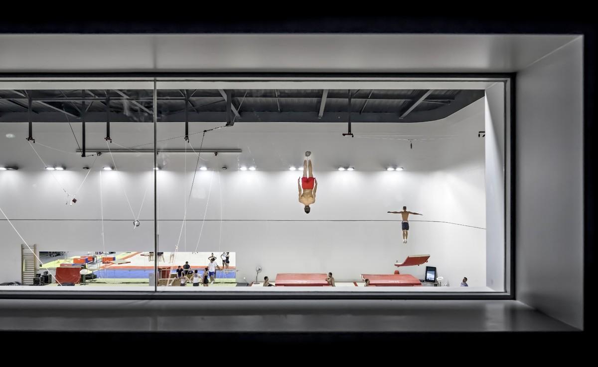 Azur Arena. Design by Auer Weber. Photo courtesy of Aldo Amoretti.