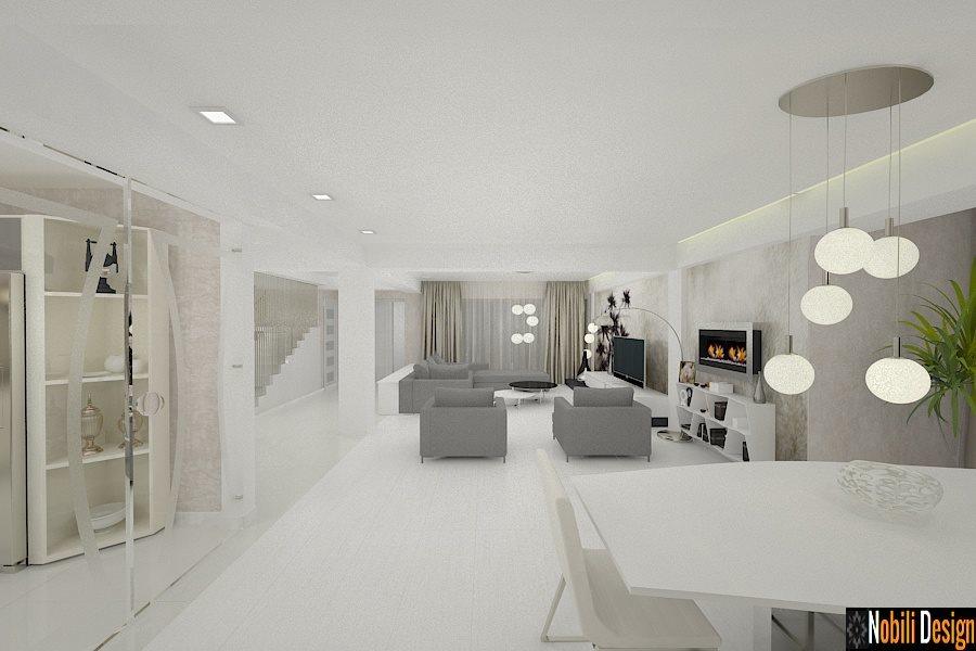 Design interior case moderne amenajari interioare vile for Interioare case moderne