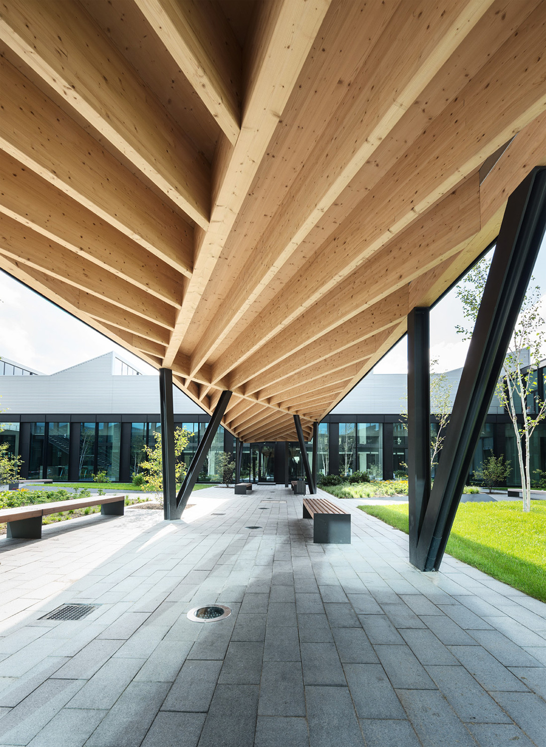 Ten Top Images On Archinect S Quot Wood Quot Pinterest Board