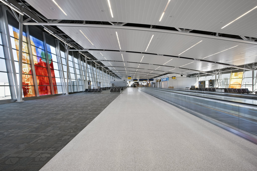 Indianapolis Airport | Hunter Douglas Contract | Archinect