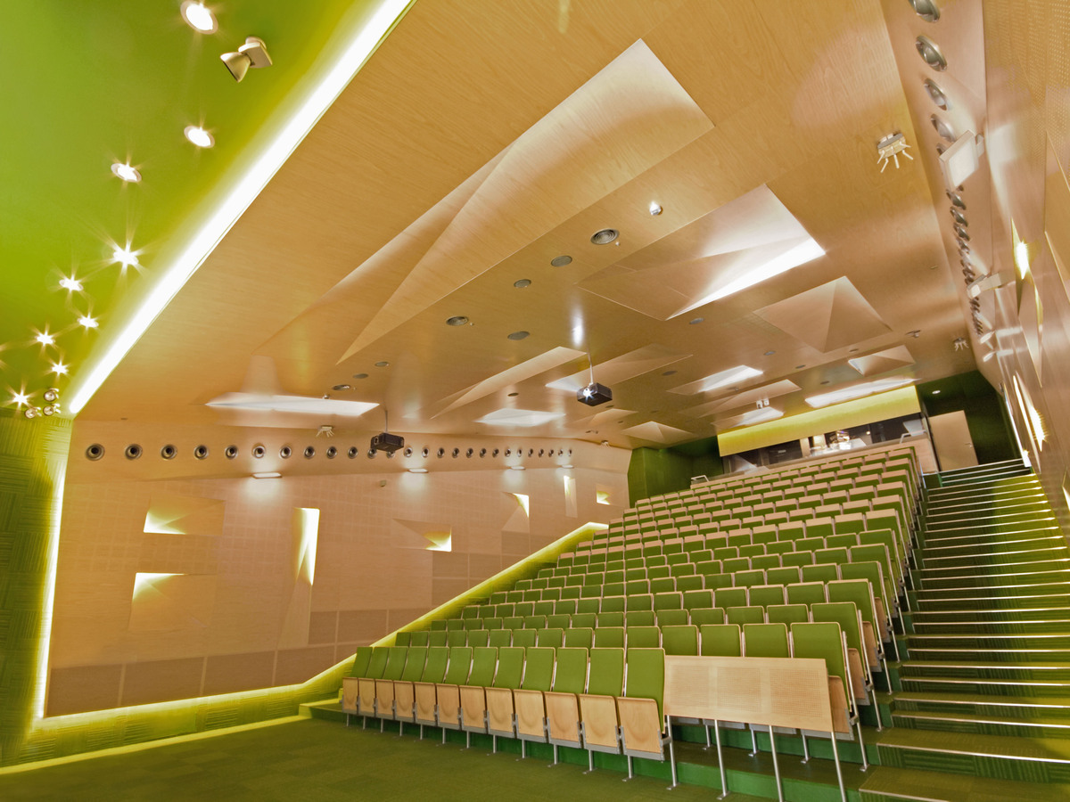 Auditoriums A B C At Silesian University Of Technology In Gliwice Zalewski Architecture