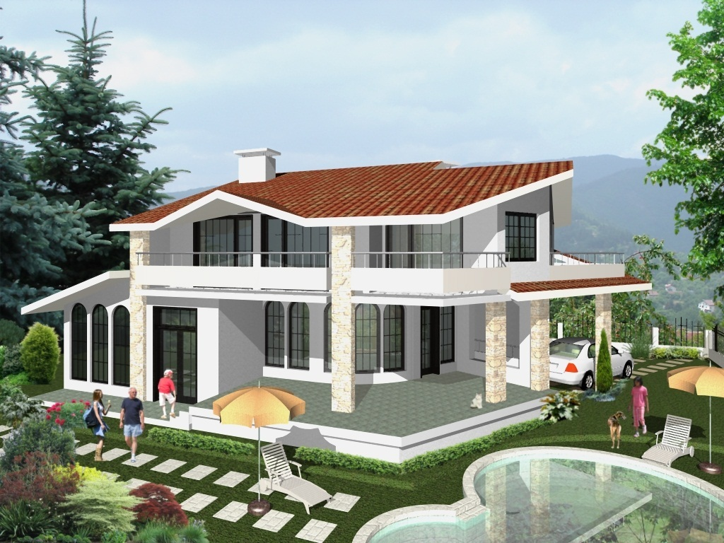 Private house villa radina angelina moneva archinect for Projects house