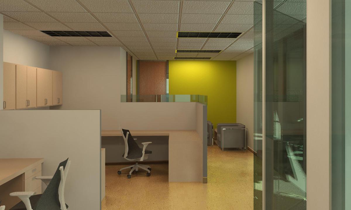 Reception/Open Work Area