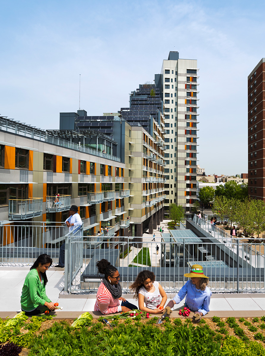 Via Verde - The Green Way; Bronx, New York by Dattner Architects and Grimshaw Architects (Photo: David Sundberg/ESTO)