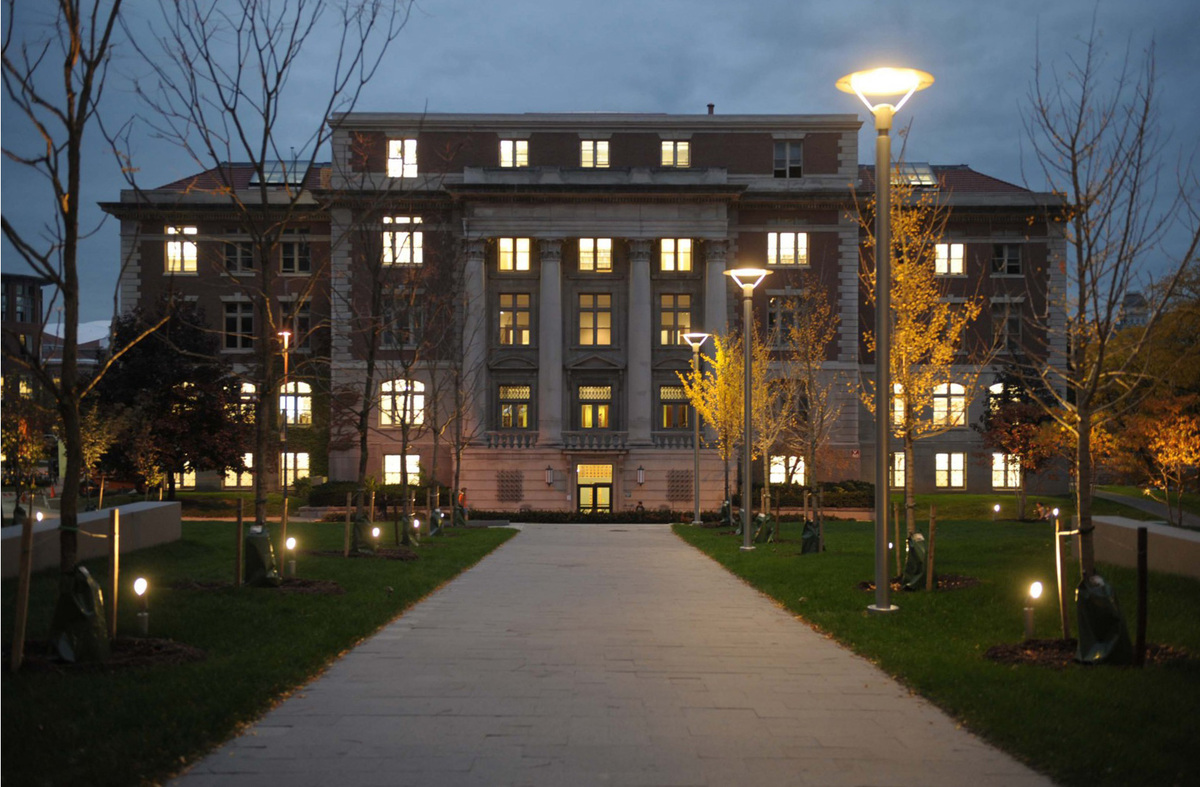 Slocum Hall on Syracuses campus. Image courtesy of Syracuse Architecture.