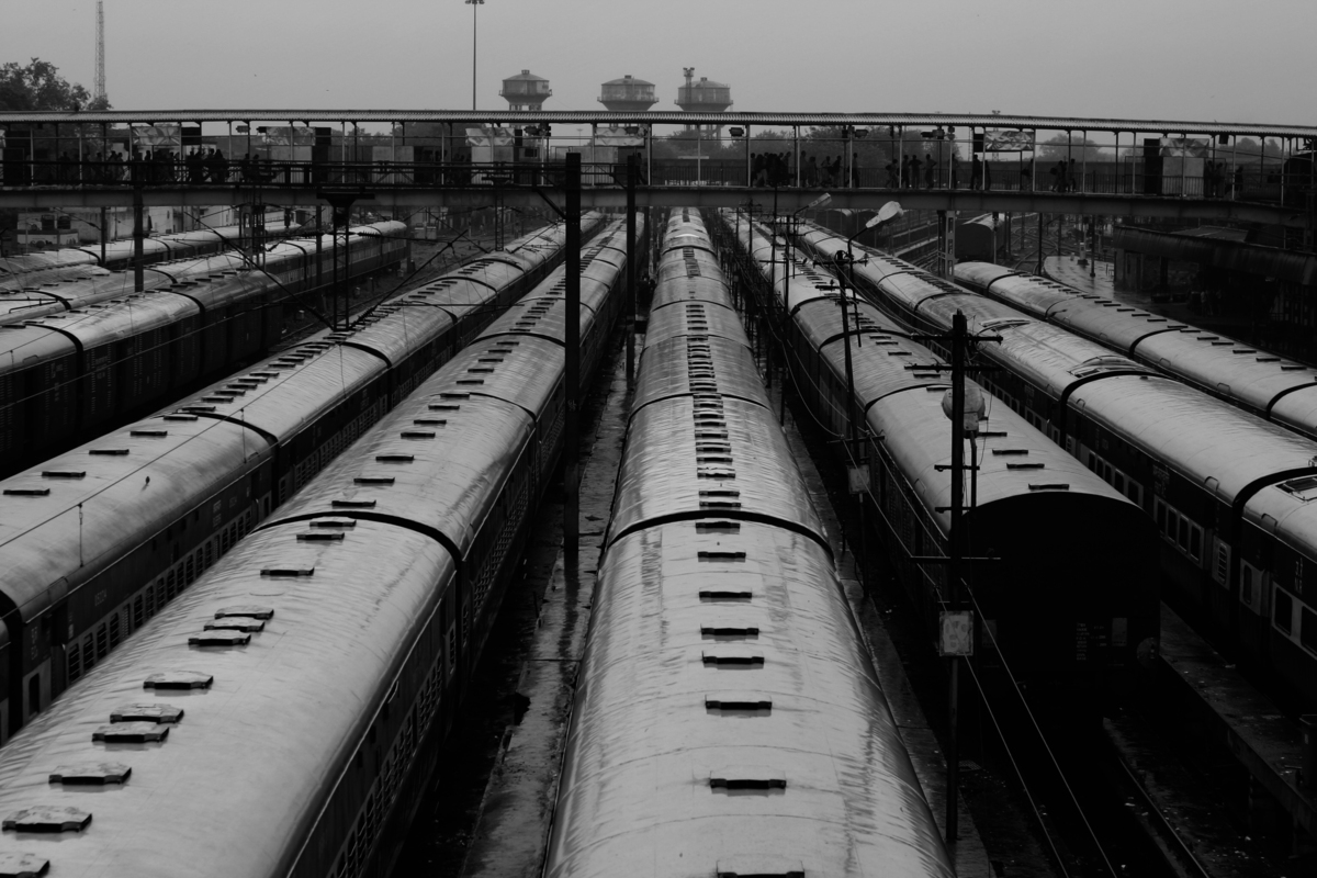 Trains Trains Trains: Delhi, India