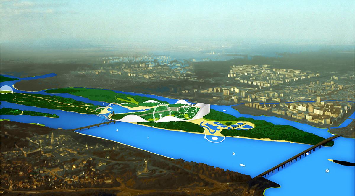 Aerial view (Image: BudCud)