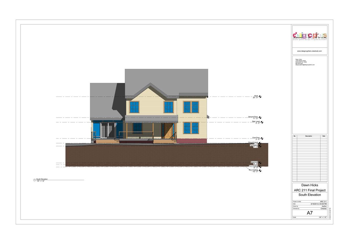 Revit Building Elevation : Revit house dawn hicks archinect