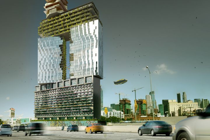 Gensler 39 S Proposed Mixed Use Downtown Los Angeles Tower To Incorporate Lo